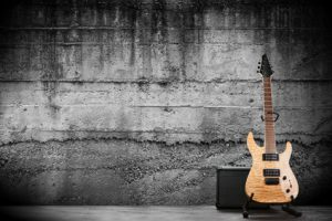 Heavy Metal mit Gitarre